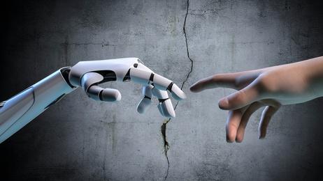 Humain et robot